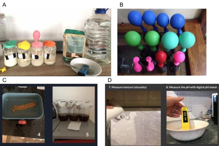 Experimental methods at home
